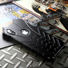 CNC Bat Armor Aluminum Metal Bumper Shockproof Case Cover For iPhone X XS Huawei