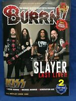 BURRN February 2020 Hard Rock Heavy Metal Magazine Japan Slayer Kiss Rage