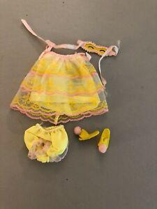 #1271 Slumber Number 1967 Francie doll outfit MOD vintage Barbie