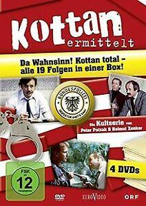 Kottan ermittelt - Alle 19 Folgen in einer Box (4 DVDs) v...   DVD   Zustand gut