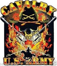 ARMY CAVALRY SKULL BUMPER STICKER TOOLBOX STICKER
