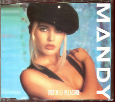 MANDY SMITH - VICTIM OF PLEASURE - 3 INCH 8 CM MAXI CD [1074]