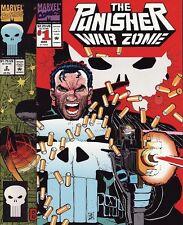 PUNISHER WAR ZONE #1,2,3,4,5,6/TOY BIZ VARIANT Marvel Comics 1ST PRINTINGS! SET!
