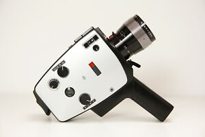 Bauer Royal 10E Makro, Super 8 Movie Camera,Tested and Working Great.--MINT--