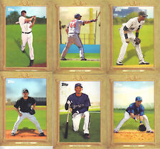 """2010  TOPPS   """"TURKEY RED""""   PIC YOUR OWN 5 CARD LOT"""