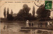 CPA  Roubaix - Bassin aux Cygnes   (513066)