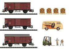 """TRIX 24028 H0 Güterwagen-Set """"Kaffee-Transport""""  in Originalverpackung """"NEU"""""""