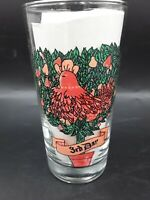 Twelve Days Of Christmas Indiana Glass  Tumbler 12 oz  3rd  Day Only