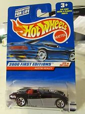 Hot Wheels Austin Healey 2000 First Editions Black / Silver