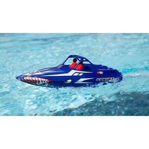 Pro Boat Jetsprint Jet Boat, RTR, Blue - PRB08045T2