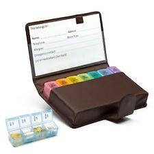 Extra Large 7 DayTravel/Home Pill Box Holder Dispenser Prescription Medication