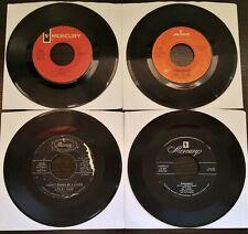 Lot of 4 Mercury Label Records 45RPM (Used)