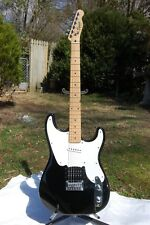 SQUIER 51, 2005 MODEL, BLACK  W/WHITE GUARD