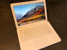 "Apple MacBook weiß 13,3"" Core2Duo 2.4 2GB RAM 250GB HDD High Sierra"