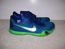 SZ 11 Nike Zoom Kobe X Emerald City Seahawks 705317-402 Protro 1 IX IV V II VI