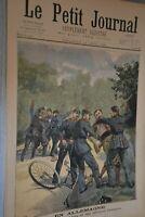 Le Petit Journal Supplémént illustré / 14 aout 1898 / En Allemagne Rixe...