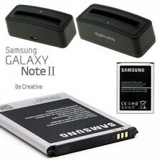 Batterie Pile Samsung EB595675LU + Station de Charge GT-N7105 Galaxy Note 2 LTE