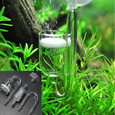 CO2 Diffuses Check Valve 4 in 1 Aquarium U-Tubes Suckers Carbon Dioxide Reactor