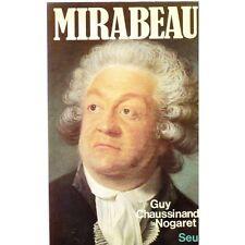 MIRABEAU Tribun du Tiers Etat dans  la Révolution par Guy CHAUSSINAND-NOGARET
