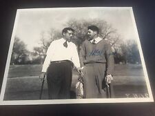 Henry Picard Golf Signed Autograph Photo Masters Jack Nicklaus Grout JSA Cert.