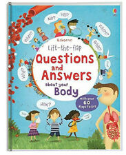 Usborne Lift The Flap Questions and Answers About Your Body (bb) 60+ flaps NEW