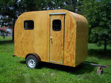TEARDROP Camper Trailer PLANS 5x10 Tear Drop RV Camp #2