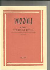 GUIDA TEORICO PRATICA - PARTE III e IV - POZZOLI - RICORDI - SPARTITI