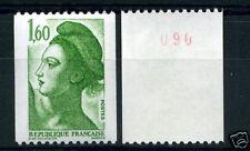 FRANCE - liberté roulette 2222a - n° rouge - neuf** TB