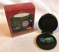 Hallmark Keepsake Christmas Ornament Hot Wheels Jet Threat Car With Case in Box