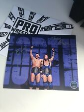 The North - Pro Wrestling Crate Exclusive Signed Photo - WWE, WCW, IMPACT