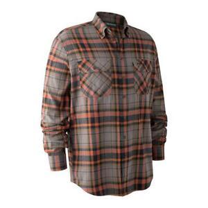Deerhunter Marvin Shirt Orange Check