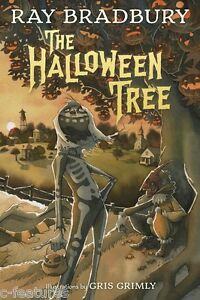 THE HALLOWEEN TREE Gris Grimly AUTOGRAPHED Signed RAY BRADBURY Mint HC 1ST ED