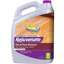 128Oz Professional Satin Finish Wood Floor Restorer Cleaner Liquid UV Protection
