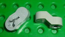 LEGO - TECHNIC - Engine Crankshaft Center, LIGHT GREY x 2 (2854) TK988