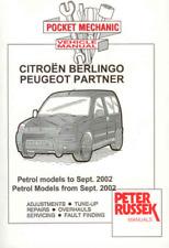 Citroen Berlingo Peugeot Partner Petrol 1996 to 2004 New Workshop Manual Service