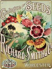 20x30cm Smith Seed Catalogue Vintage Style Metal Advertising Wall Sign