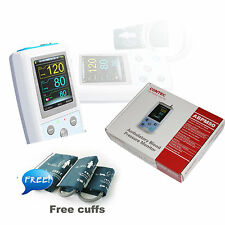 FDA CE Digital Ambulatory Blood Pressure Monitor Upper Arm 3pcs BP Cuff+Software