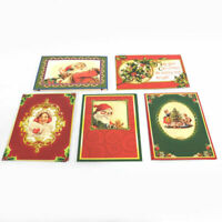 Pop-Up Victorian Christmas Cards, 20-Pack