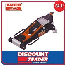 Bahco Lightweight Aluminium Trolley Jack Safe Working Load 2000kg - BH1AOZ2000A