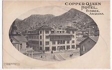 USA; Copper Queen Hotel, Bisbee, Arizona PPC Unposted, Undivided Back, c 1900- 5