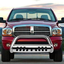 For 02 09 Ram 150025003500 Truck Stainless Bumper Bull Bar Grille Skid Plate Fits 2005 Dodge Ram 1500