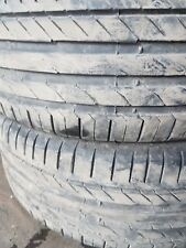 x2 225/45/17 continental contact 5 tyres