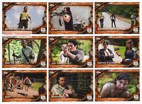 2017 Topps Walking Dead Season 6 - 100 Trading Card Rust Parallel Base Set