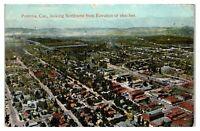 1920 Aerial View of Pomona, CA Postcard *4V