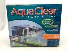 AquaClear 30 Aquarium Power Filter (150 GPH - 10-30 Gallons)  [20]