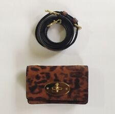 Mulberry Shiny Leopard Cellphone/ Wallet Crossbody