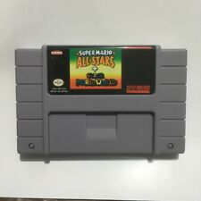 Super mario all stars + world SNES Super Nintendo Video Game USA Version