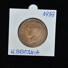 1939 Georgivs VI One Penny - Copper - Very Fine Condition