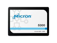 """Micron 5300 PRO 7.68TB SATA 2.5"""" 3D TLC SSD - MTFDDAK7T6TDS-1AW1ZABHA"""