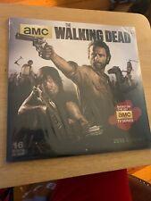AMC The Walking Dead 2015 Wall Calendar New! Factory Sealed! 16 Month Calendar